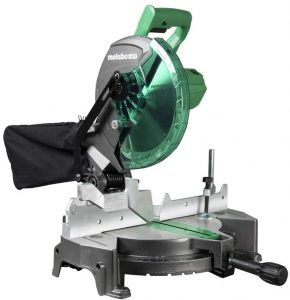 2. Metabo HPT (C10FCGS) 10 Inch Miter Saw