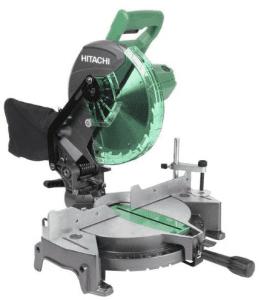 8.Hitachi (C10FCG) 10 Inch Compound Miter Saw