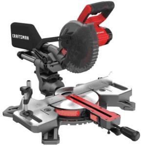 1.Craftsman (CMSC714M1) 7-1/4 Inch Sliding Miter Saw