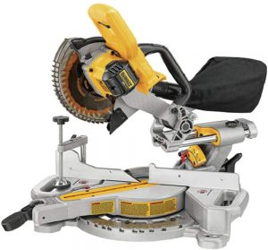 6. Dewalt 20 volts (DCS361B) Miter Saw