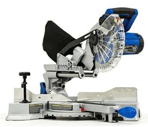 1.Kobalt Compact Sliding Miter Saw