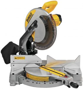 2. Dewalt (DWS715) Compound Miter Saw