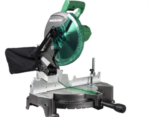 2.Metabo HPT (C10FCGS) 10 Inch  Miter Saw