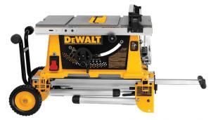 1.Dewalt DW744XRS 10-Inch Table Saw