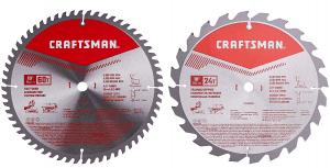 4.Craftsman 10-inch Miter Saw Blade