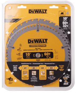 5.Dewalt (DWS3106P5) 10-Inch Balde