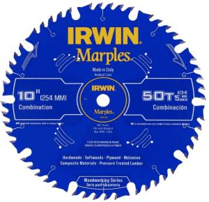 7.IRWIN Marples 10-Inch Miter Saw Blade
